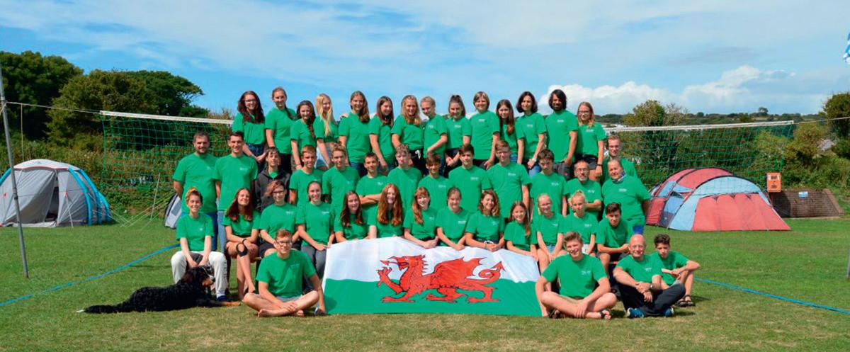 Wales 2018 - Teilnehmer
