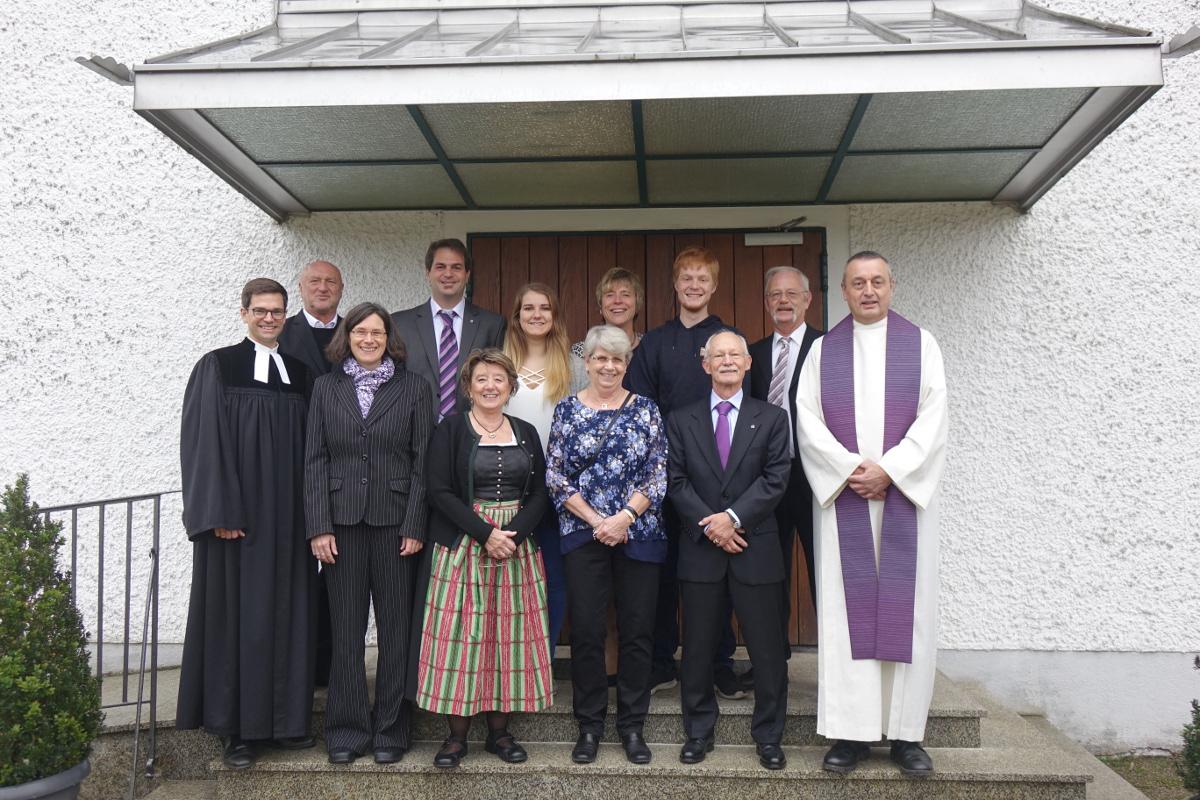 Der neu gewählte Kirchenvorstand wurde in sein Amt eingeführt